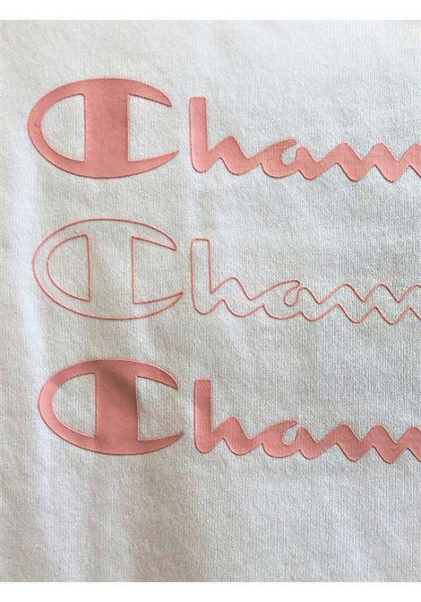 CHAMPION SET T-SHIRT BAMBINA CHAMPION | COMPLETO BAMBINO | 403889WHT