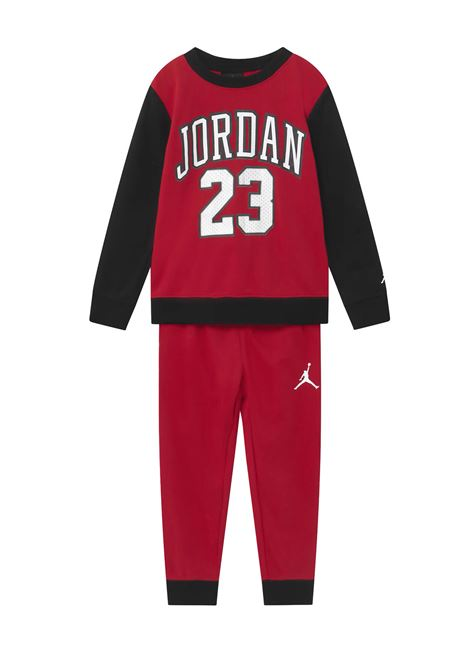 JORDAN SET PANT AND CREW INFANT Jordan junior | TUTA | 65A121R78