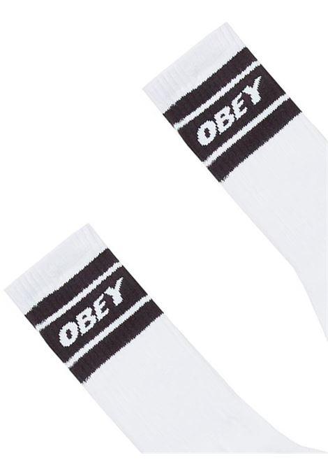 OBEY COOPER SOCKS oBEY | CALZINI | 22121MA000050WHITW