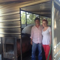 Steve Raichlen visits Franklin Barbecue