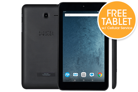 FREE Tablet Phone + 100% FREE Data Service on FreedomPop™ 4G LTE