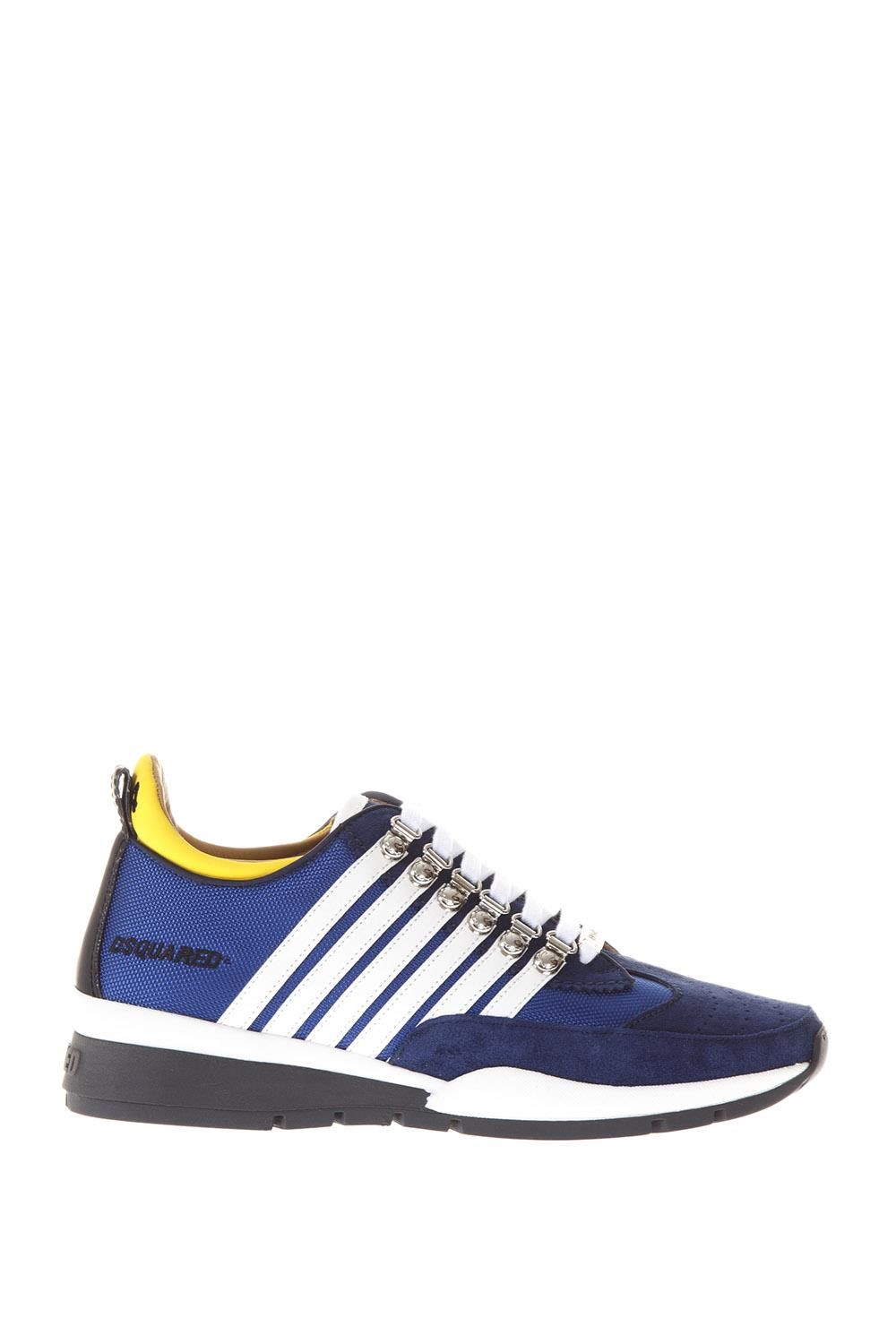 SNEAKERS IN NYLON E CAMOSCIO Dsquared2 ZLve71zae