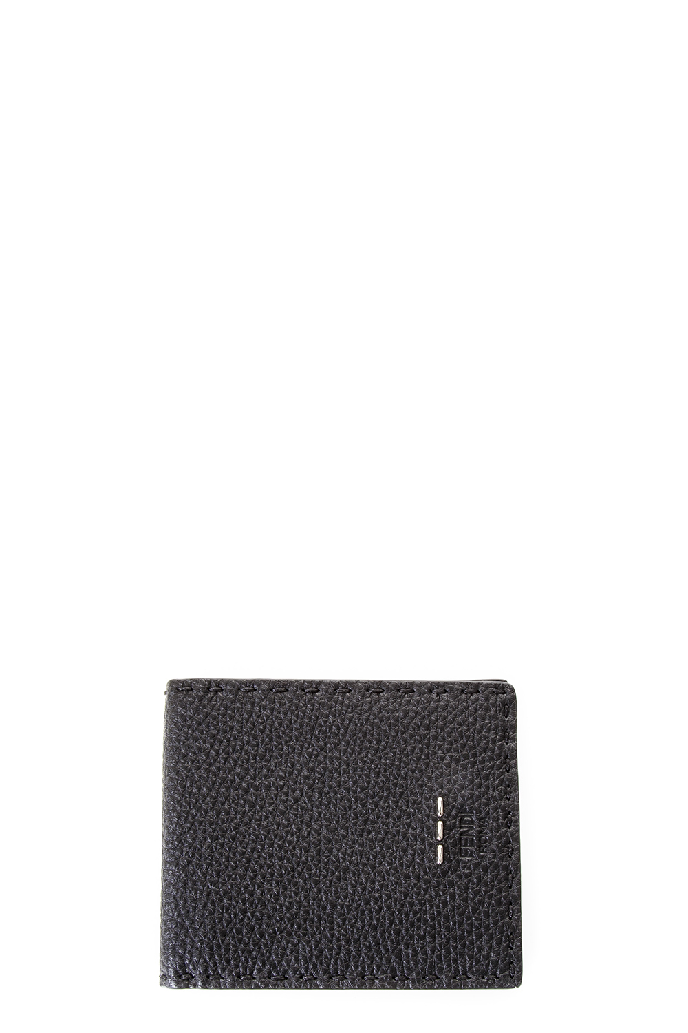 2d41378939 GRAINED LEATHER WALLET WITH LOGO FW 2017