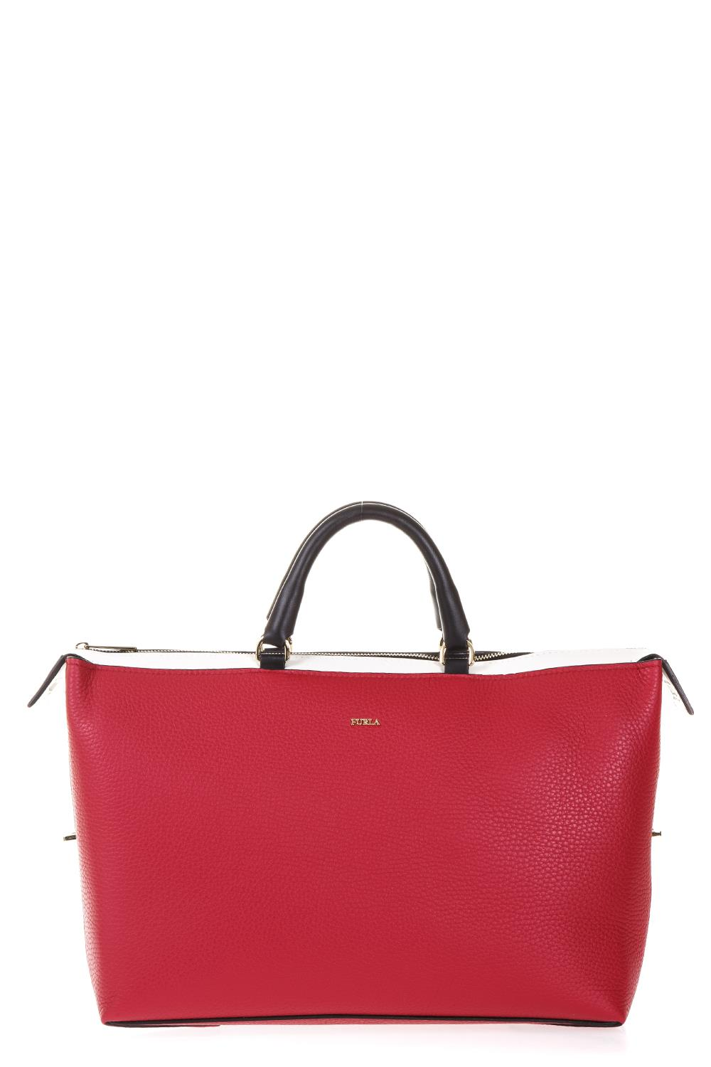 Shoulder Bag for Women On Sale, Ruby Red, Leather, 2017, one size Furla