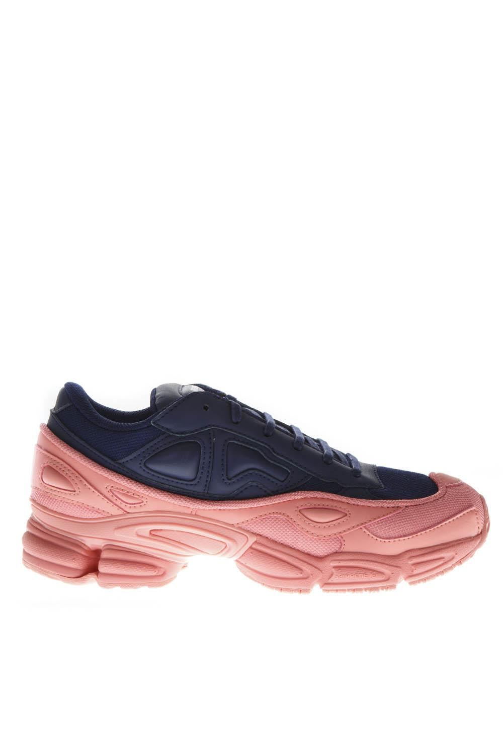 finest selection 9ddf0 11ff2 RS OZWEEGO SNEAKERS IN BLUE & PINK LEATHER FW 2018