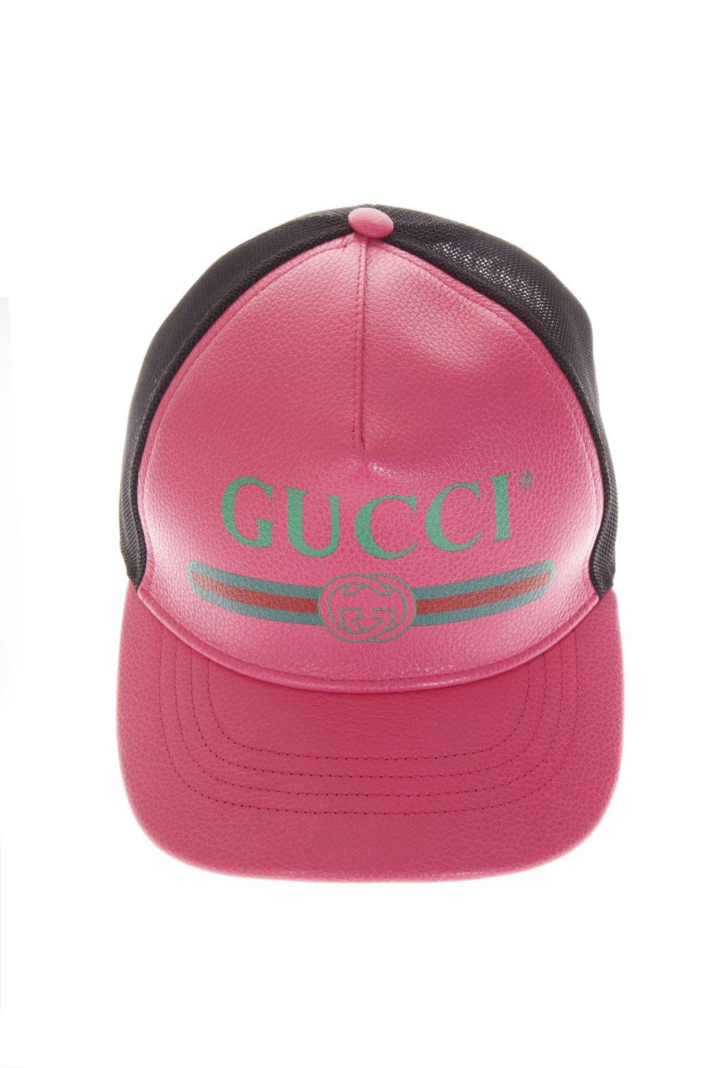BASEBALL HAT COLOR PINK WITH LOGO GUCCI FW 2018 - GUCCI - Boutique Galiano ae0679692