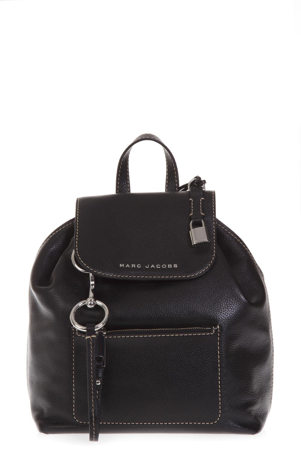 31e990aebd BLACK LEATHER BACKPACK FW 2018 - MARC JACOBS - Boutique Galiano