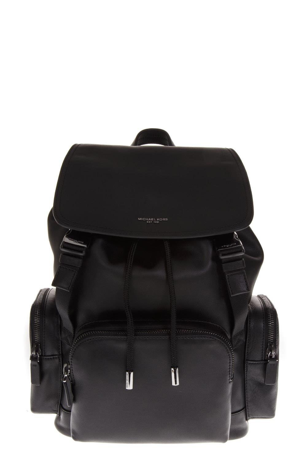 15a466d94893 HENRY BLACK LEATHER BACKPACK FW 2018 - MICHAEL MICHAEL KORS - Boutique  Galiano