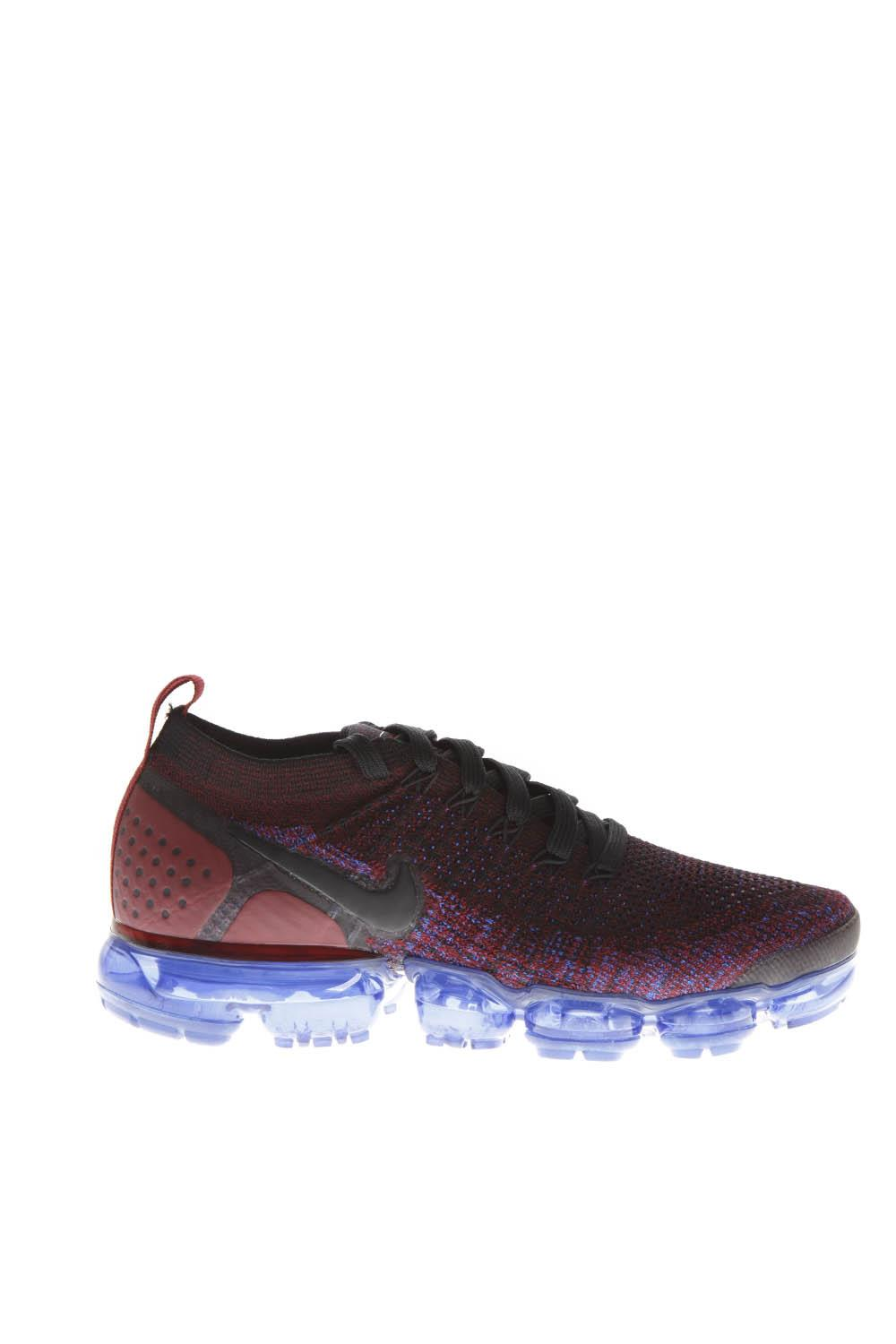 wholesale dealer cadb2 65ce1 AIR VAPORMAX BLUE & BURGUNDY FABRIC SNEAKERS FW 2018