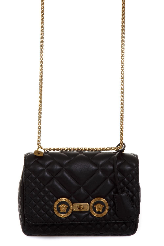 456c35de2f Versace Quilted Shoulder Bag