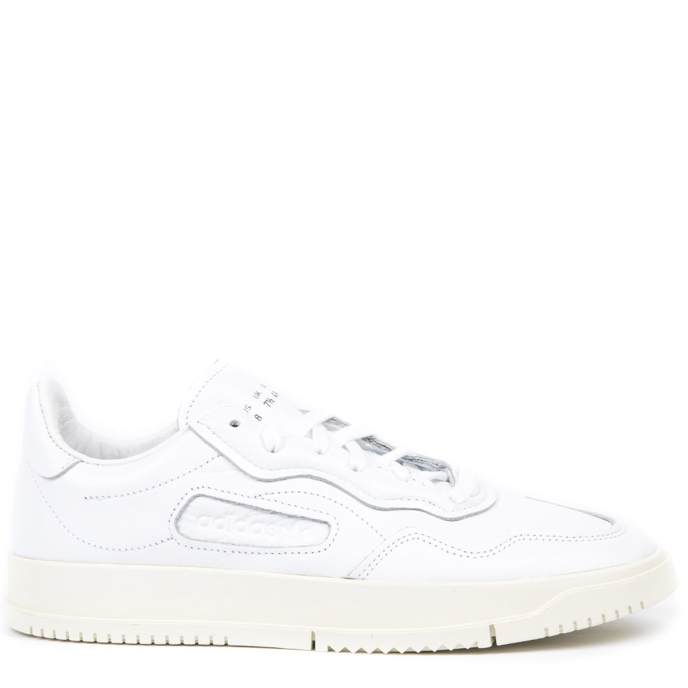 finest selection 7ca7e 92d65 WHITE LEATHER LOW TOP SNEAKERS FW 2019