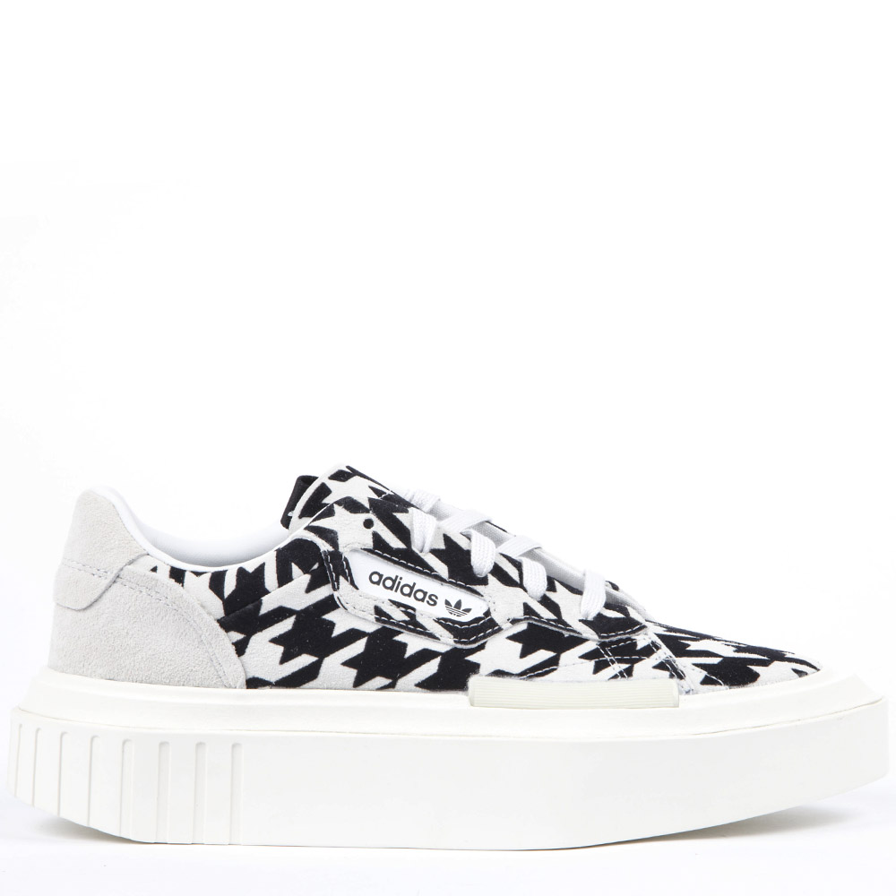 taille 40 9587f 0c185 BLACK AND WHITE SUEDE HYPERSLEEK SNEAKERS FW 2019