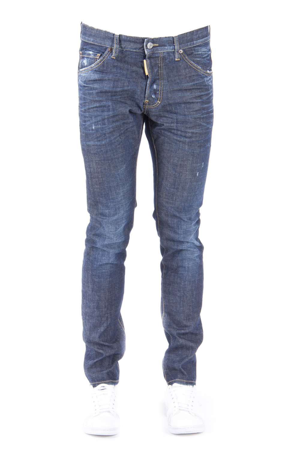 COOL GUY COTTON DENIM JEANS SS 2016 - DSQUARED2 - Boutique Galiano 0fc2fd07a02f