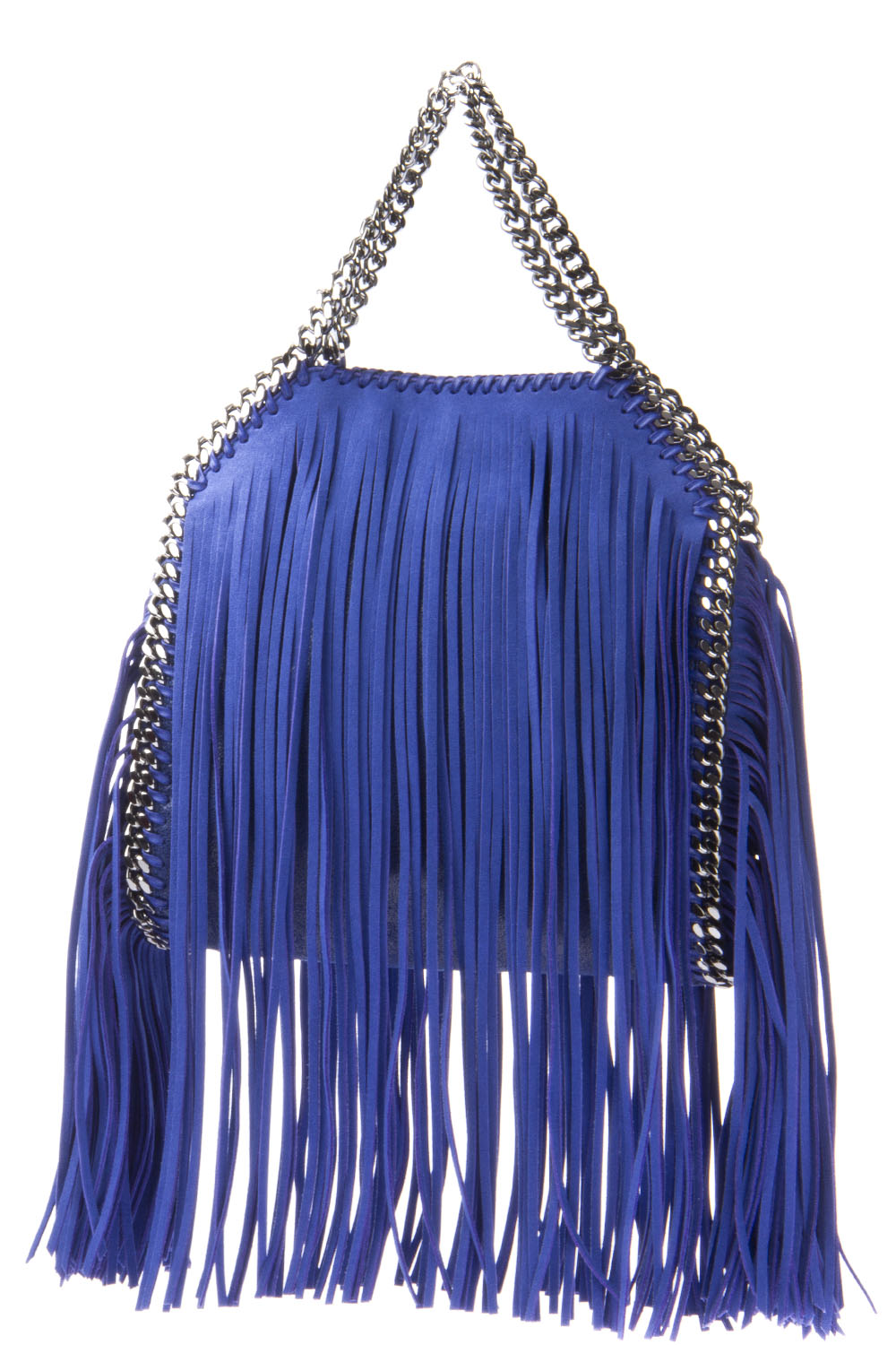 4d320878105b MINI 3CHAIN FALABELLA FRINGED FAUX DEER SS 2016 - STELLA McCARTNEY -  Boutique Galiano