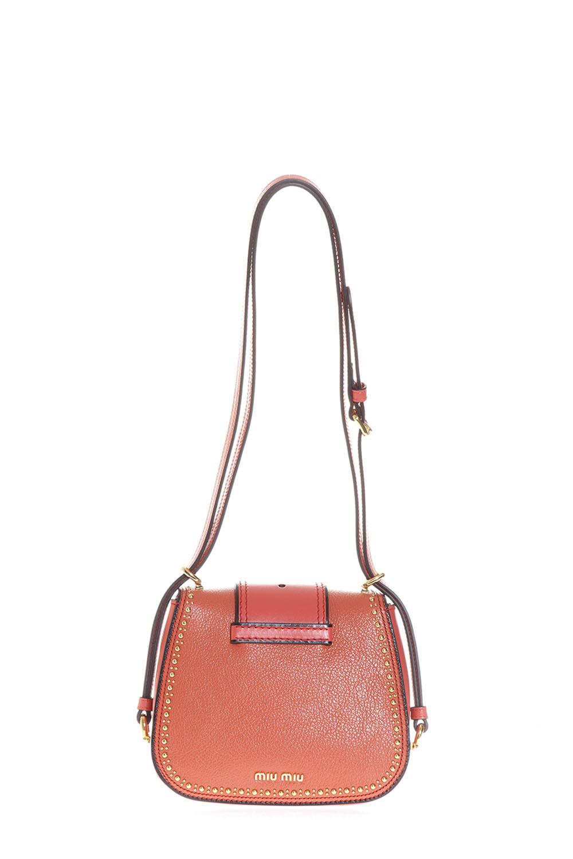 269b1f08bd2f DAHLAI LEATHER SHOULDER BAG SS 2017 - MIU MIU - Boutique Galiano