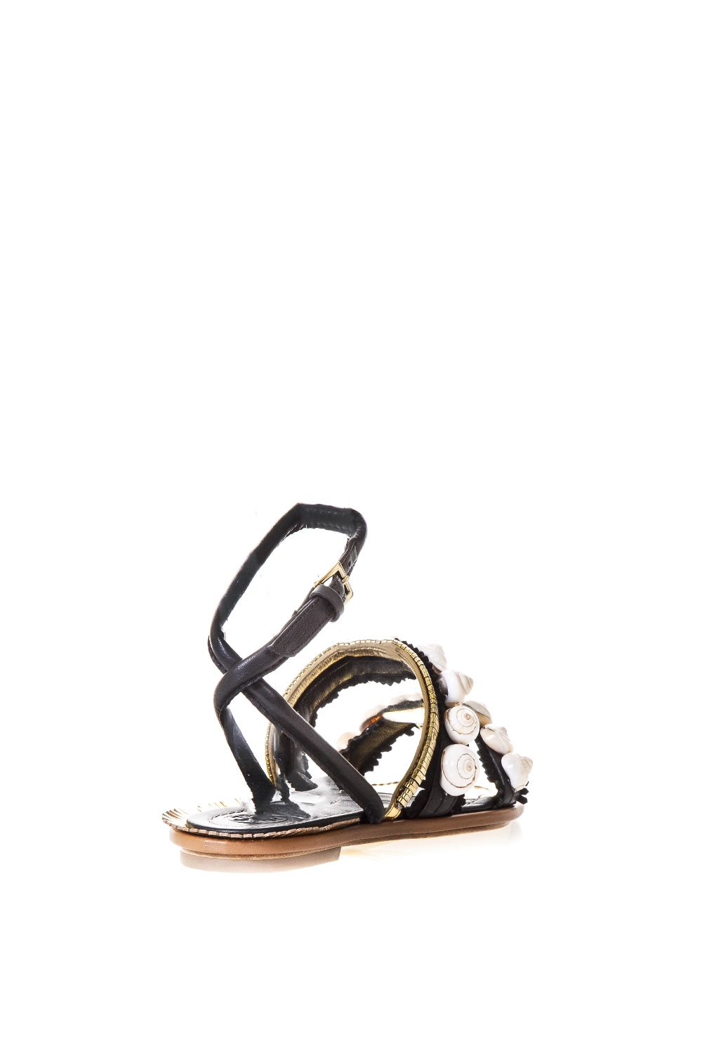 d2dfb5345688a4 SINCLAIR EMBELLISHED LEATHER FLATS SS 2017 - TORY BURCH - Boutique ...