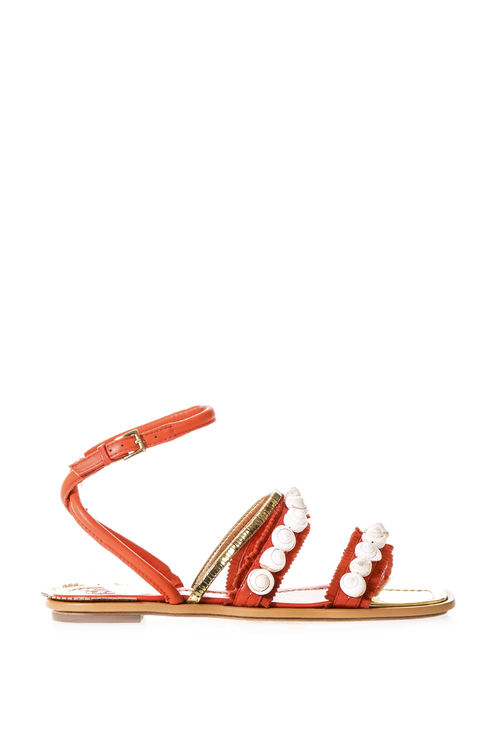 1e1aa5a256218f SINCLAIR EMBELLISHED LEATHER FLATS ss 2017 - TORY BURCH - Boutique Galiano
