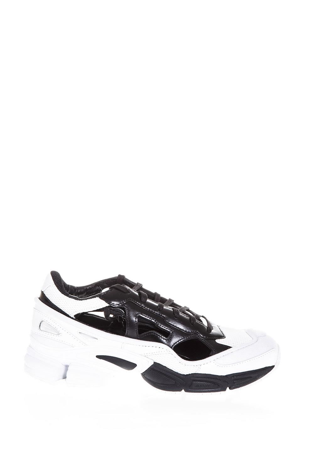 new styles 27081 fbd47 REPLICANT OZWEEGO BLACK  WHITE SNEAKERS BY RAF SIMONS. ADIDAS BY RAF SIMONS