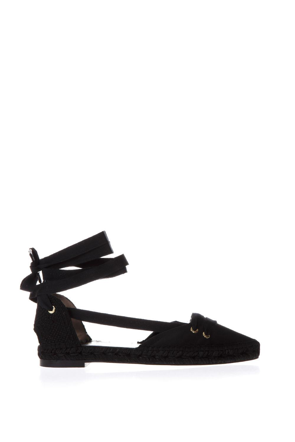 6bb0f0b73c4f BLACK SATIN AND JUTA ESPADRILLES SS18 - CASTANER BY MANOLO BLAHNIK - Boutique  Galiano