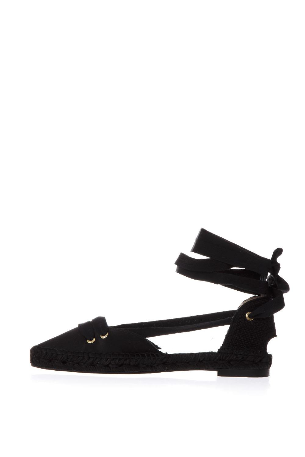 641b071effb5 BLACK SATIN AND JUTA ESPADRILLES SS18 - CASTANER BY MANOLO BLAHNIK ...