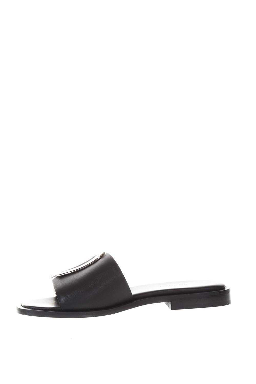 Dondup Leather Sandals With Logo Get Online Best Seller Cheap Online 3SP2YRN