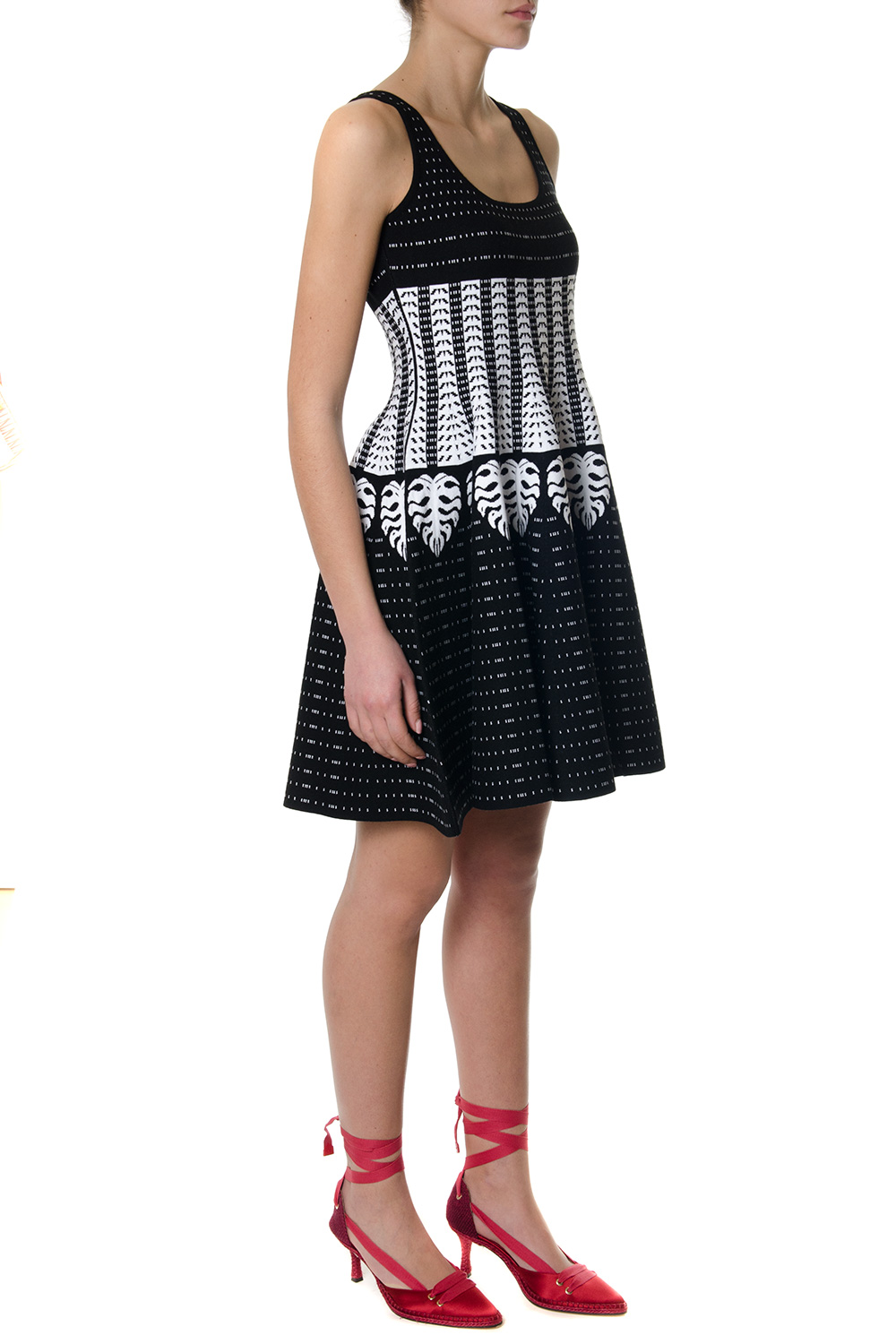 patterned intarsia dress - Black Dsquared2 Discount Wholesale Price Clearance New Arrival 3xmky