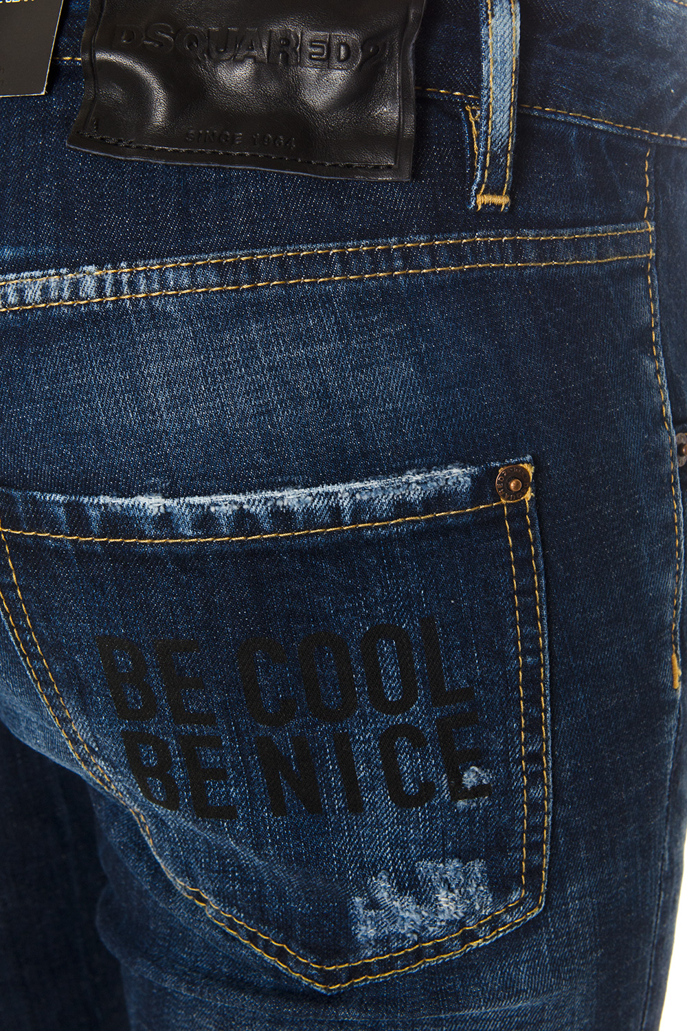 ee23fc4ca24 NIGHT BLUE BE COOL BE NICE COTTON JEANS SS 2018 ...