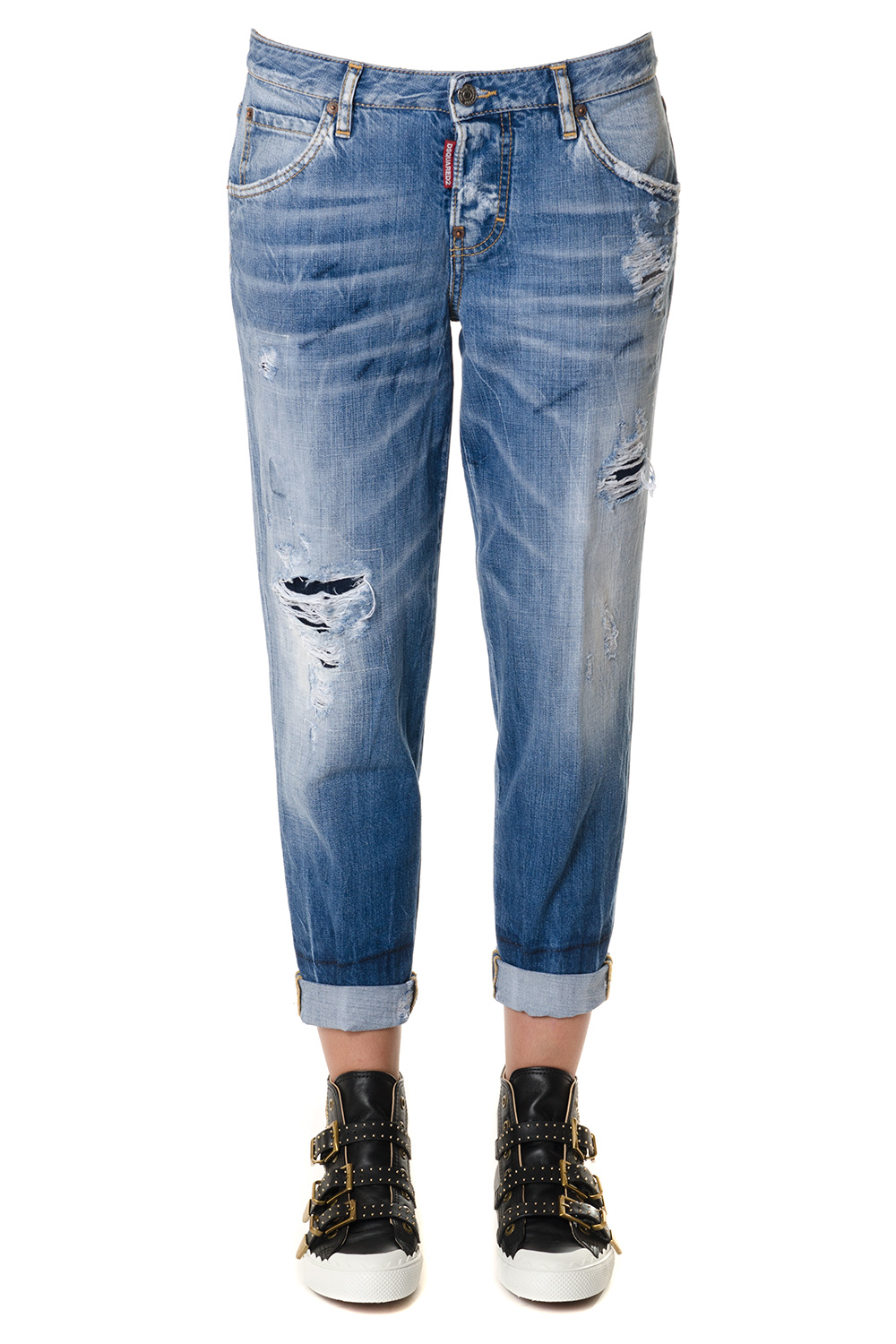 4c633d3ab58 Denim jeans with tears SS2018 - DSQUARED2 - Boutique Galiano
