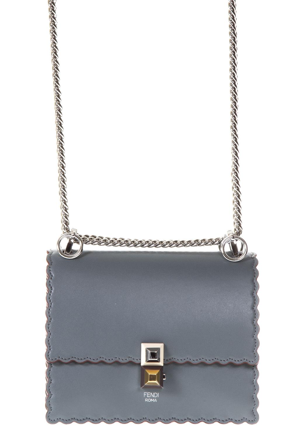 ce022b4f40 ... coupon code for kan i grey bag in leather ss 2018 fendi boutique  galiano 5dfda 2a29b