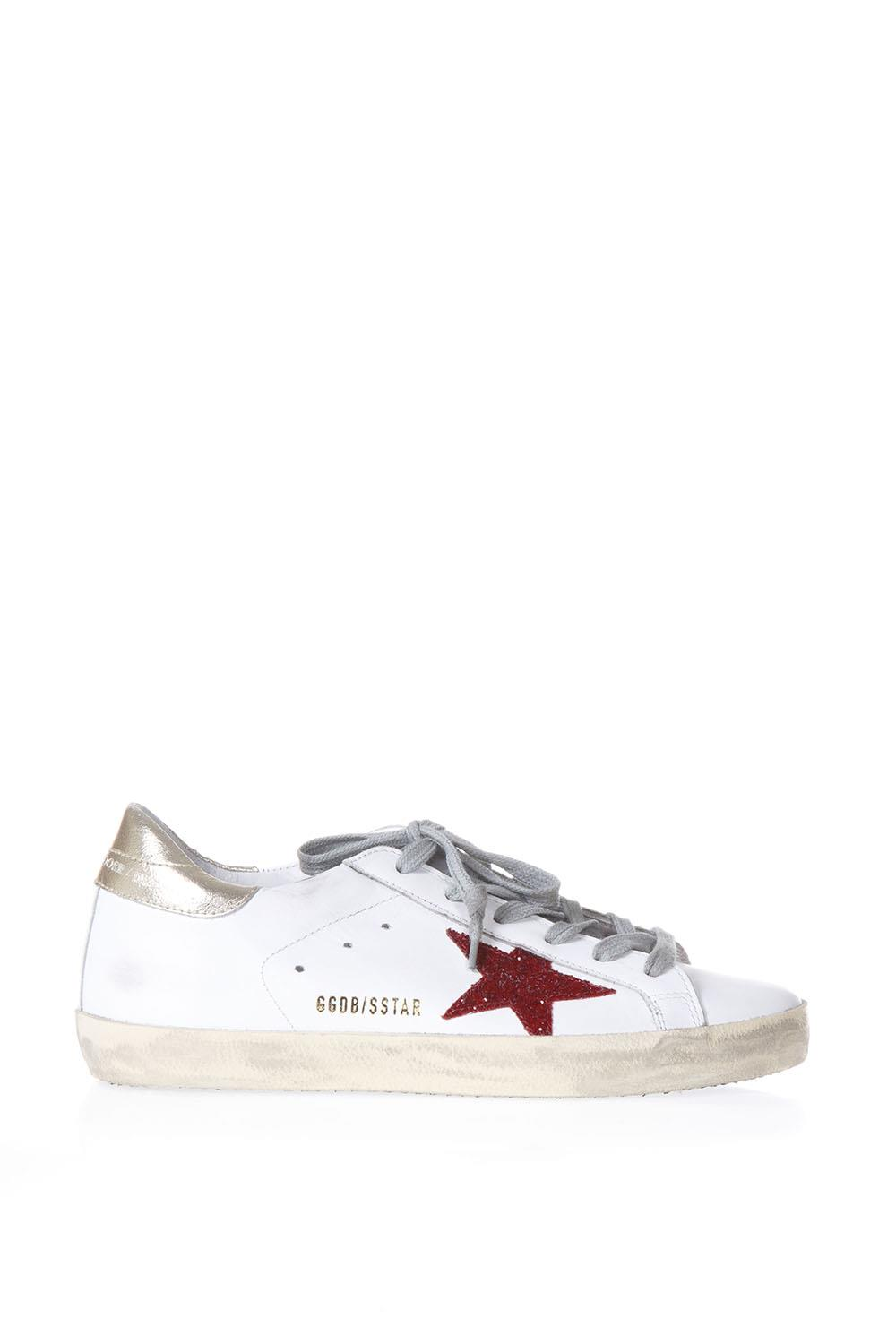 52cecea42e389 WHITE SUPERSTAR GLITTER CRYSTAL SNEAKERS SS 2018 - GOLDEN GOOSE DELUXE BRAND  - Boutique Galiano