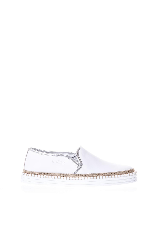 slip-on woven detail sneakers - White Hogan Y0bePI