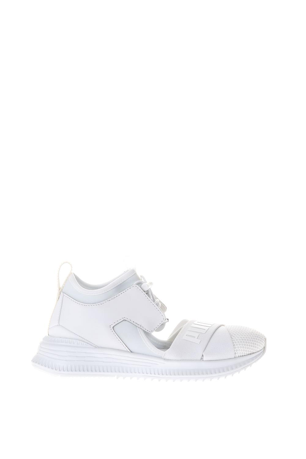 huge discount 8a74c 1ff20 WHITE FENTY SNEAKERS BY RIHANNA SS 2018