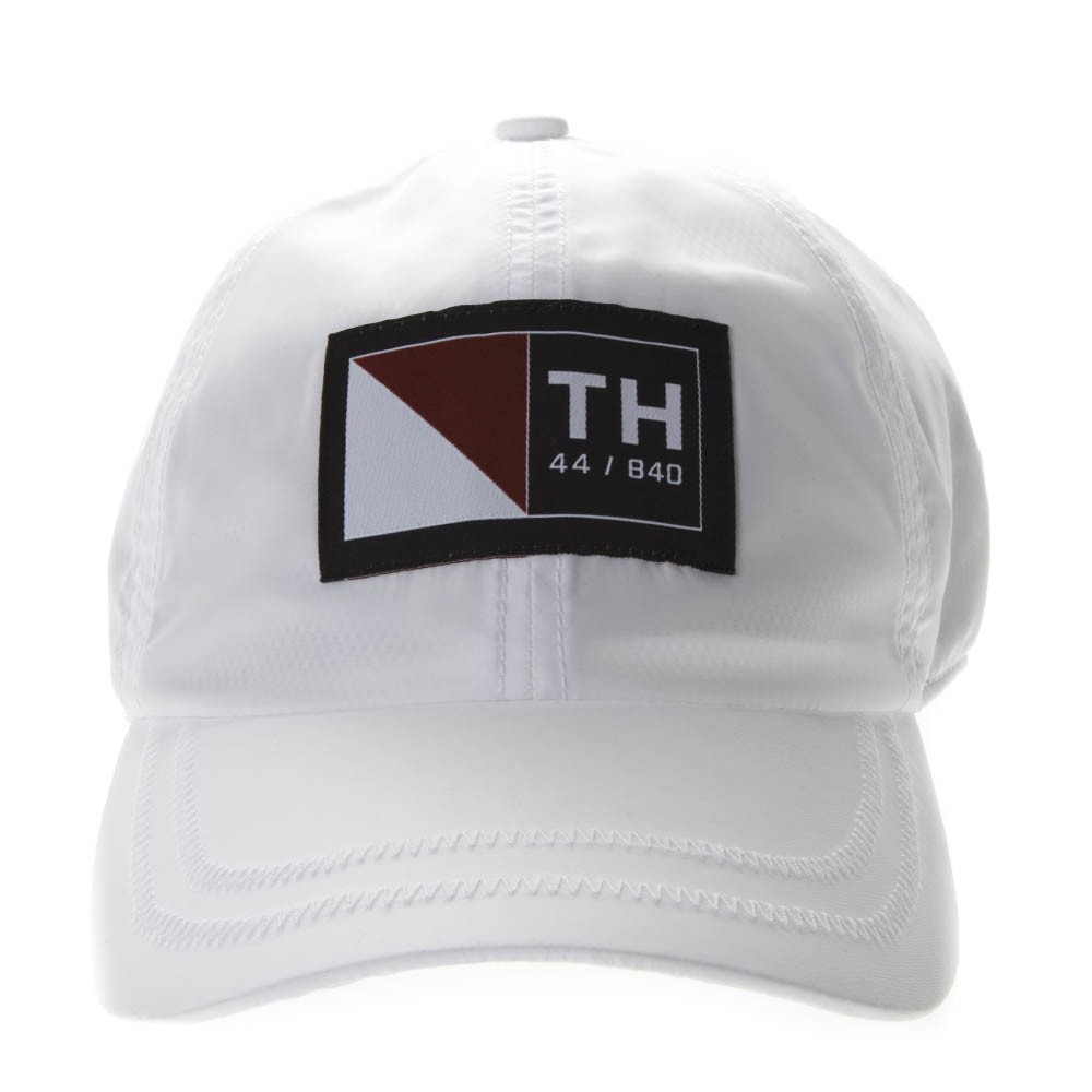 b8ea636f WHITE COTTON BASEBALL CAP WITH LOGO PATCH SS 2019 - TOMMY HILFIGER -  Boutique Galiano