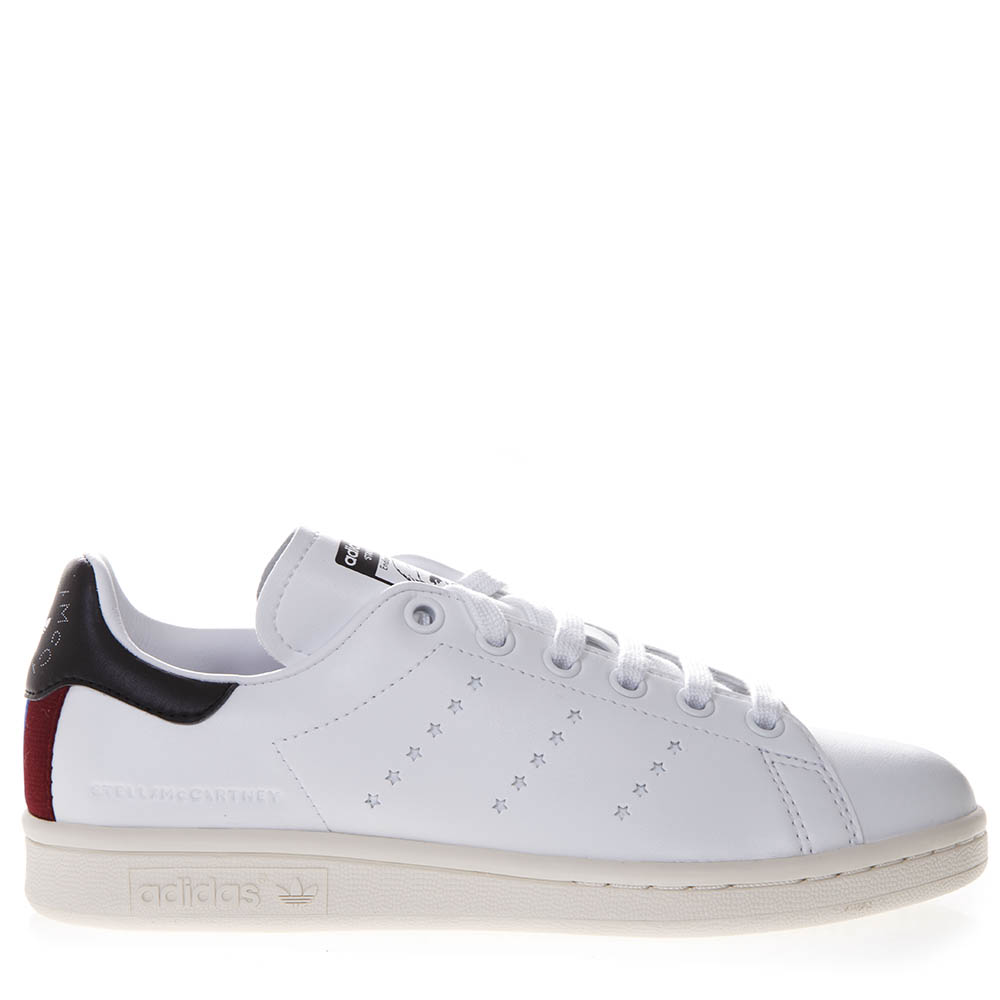 uk availability 65253 92156 SNEAKERS STELLA X STAN SMITH IN WHITE FAUX LEATHER SS 2019