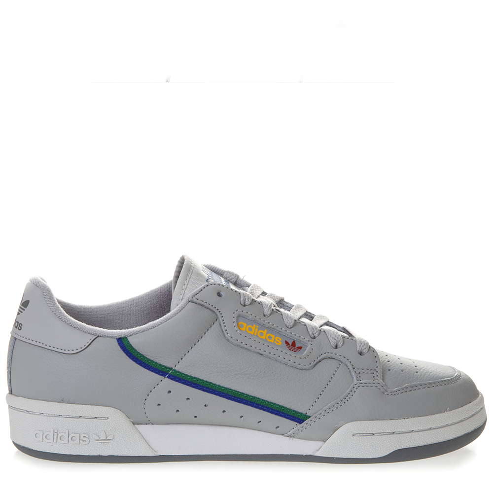 Continental Gray Leather Sneakers Ss 2019