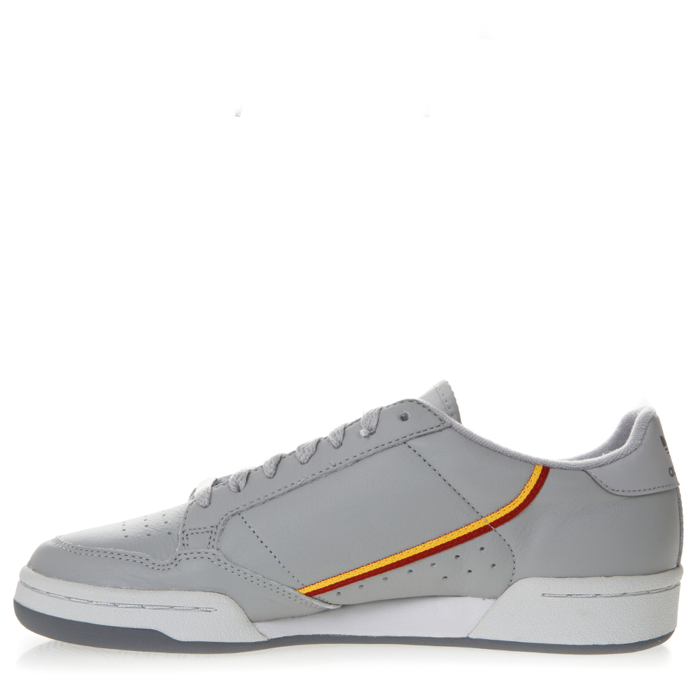 e65f20011eb2 CONTINENTAL GRAY LEATHER SNEAKERS SS 2019 - ADIDAS ORIGINALS ...