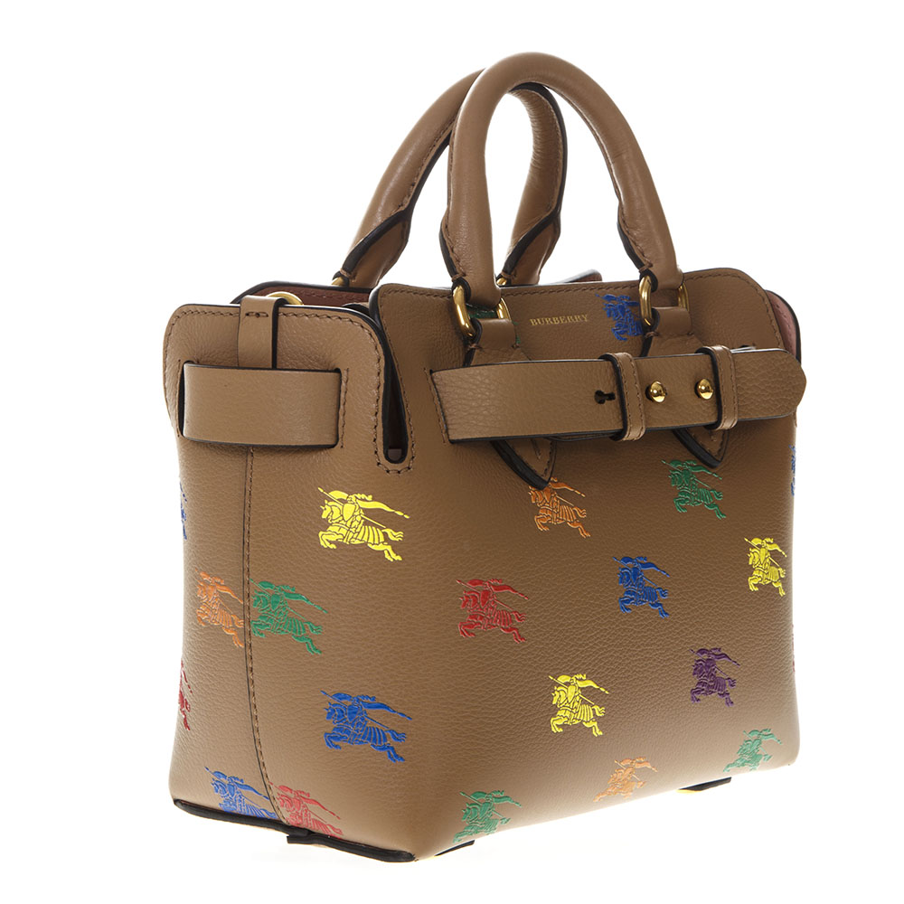 69a8a0e22995 THE BELT BAG IN CAMEL LEATHER WITH EQUESTRIAN KNIGHT PRINT SS 2019 ...