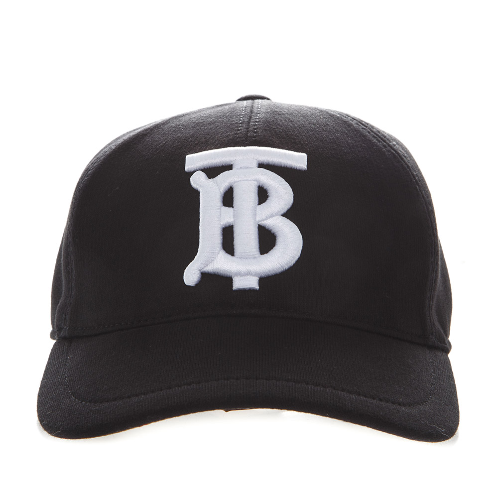 c170b54801da6f BASEBALL HAT IN BLACK COTTON WITH EMBROIDERED LOGO SS 2019 - BURBERRY - Boutique  Galiano