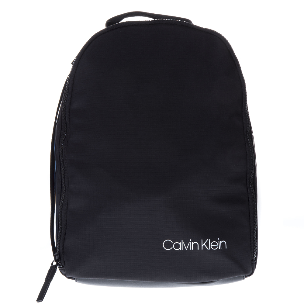 006623ba8461 UNISEX BLACK FAUX LEATHER BACKPACK SS19 - CALVIN KLEIN - Boutique Galiano