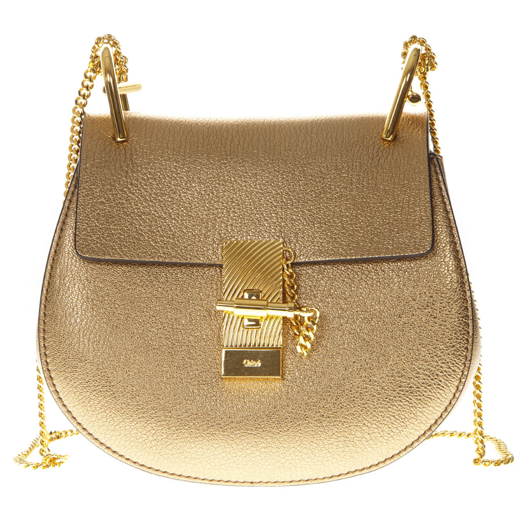Boutique Pe19 Borsa Mini Spalla Chloé Gold Drew A Galiano thQCsdrx