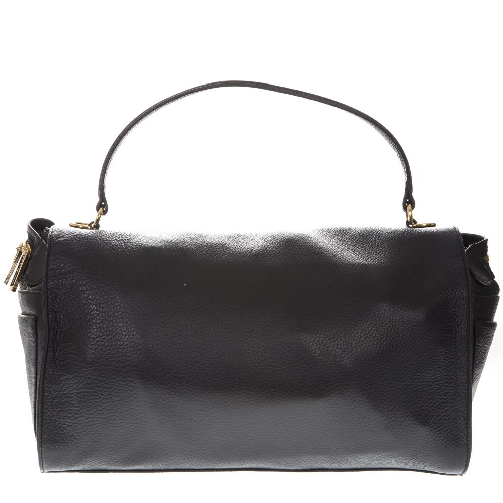 d103432e7713 ATSUKO BLACK LEATHER BAG SS19 - COCCINELLE - Boutique Galiano