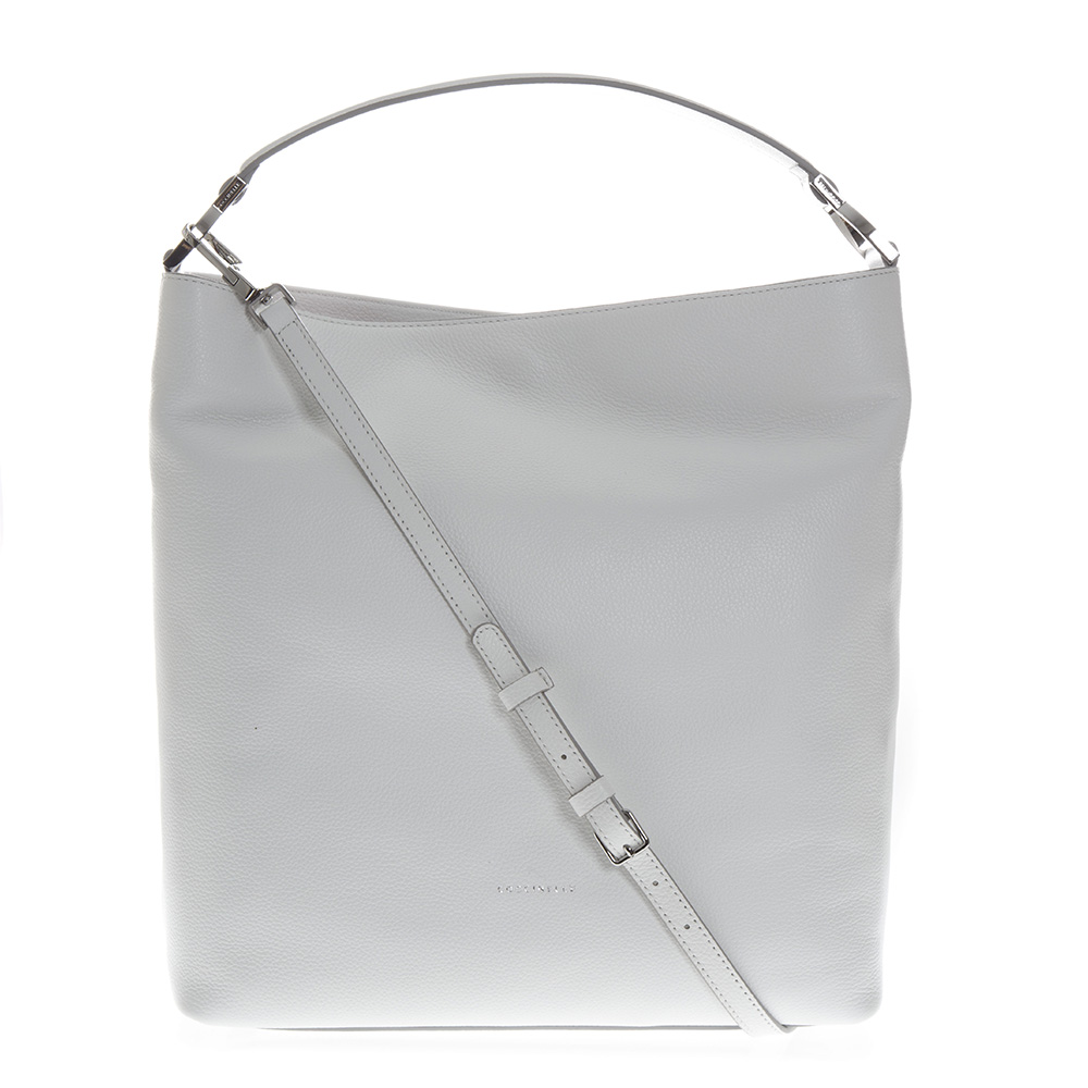 21ae6fb935 WHITE LEATHER SHOPPER BAG SS 2019 - COCCINELLE - Boutique Galiano