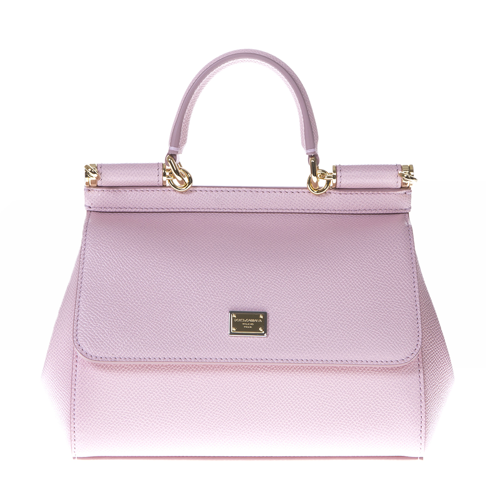 4afd5a3918 MINI SICILY PINK COLOR LEATHER BAG SS 2019 - DOLCE   GABBANA - Boutique  Galiano