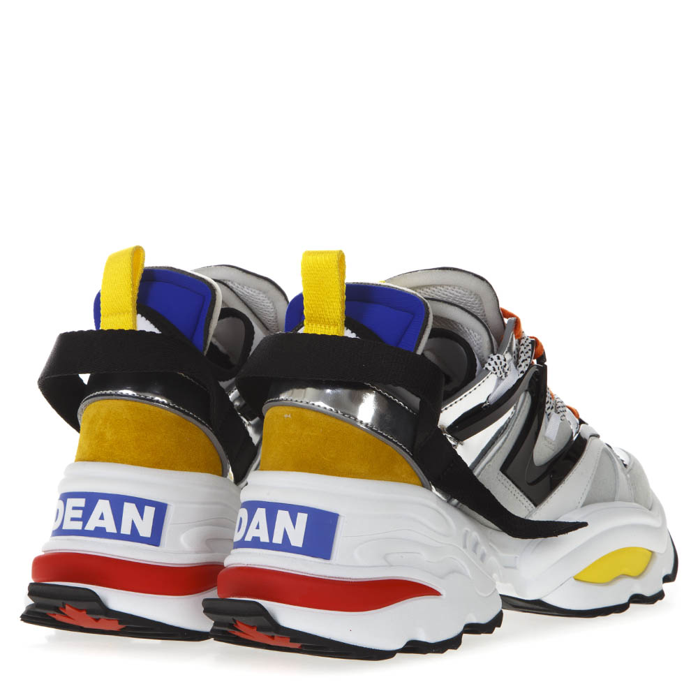 low priced 92569 71eb5 THE GIANT MULTICOLOR SNEAKERS IN TECHNICAL FABRIC