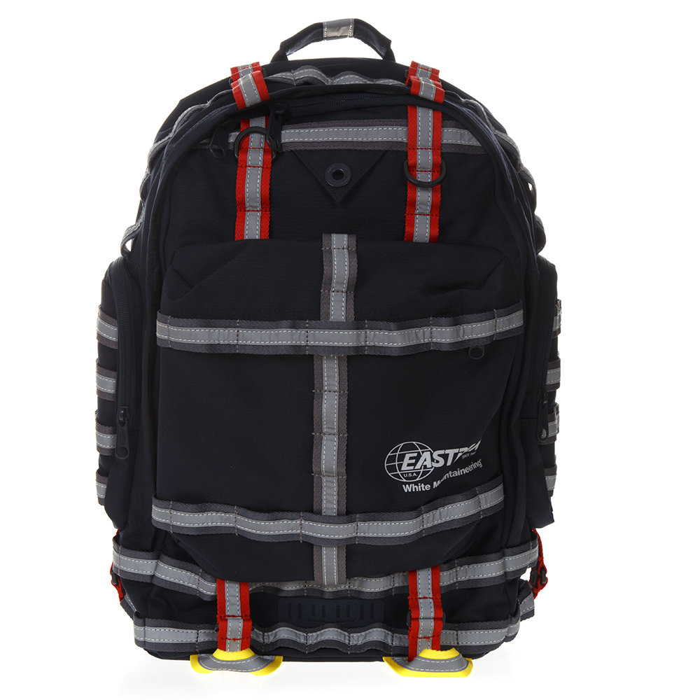 NAVY WHITE MOUNTAINEERING BACKPACK IN NYLON SS 2019 - EASTPAK LAB -  Boutique Galiano