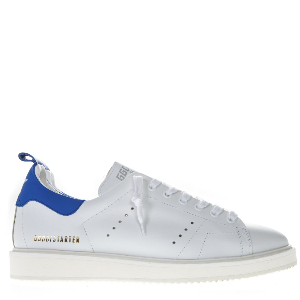 02ddc174b0637 STARTER WHITE LEATHER SNEAKERS SS19 - GOLDEN GOOSE DELUXE BRAND - Boutique  Galiano