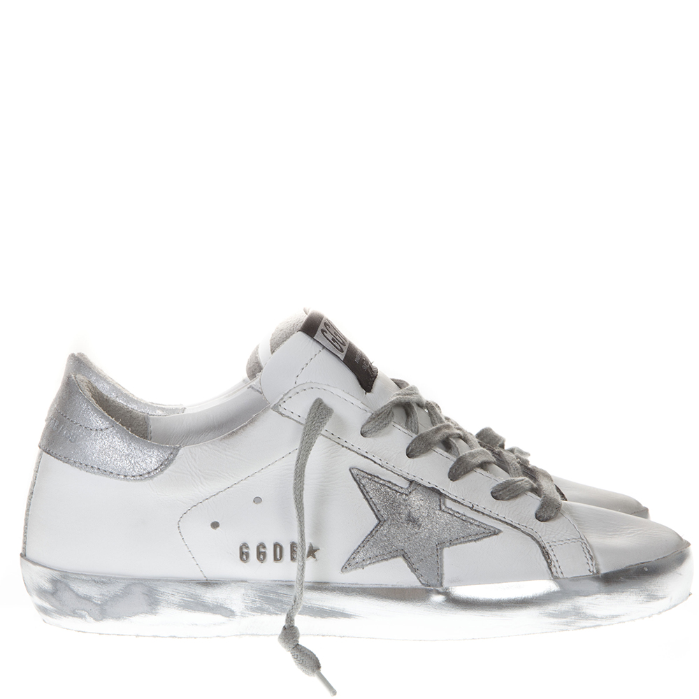 b5a533a6d60 20MM SUPER STAR LEATHER SNEAKERS SS19 - GOLDEN GOOSE DELUXE BRAND -  Boutique Galiano