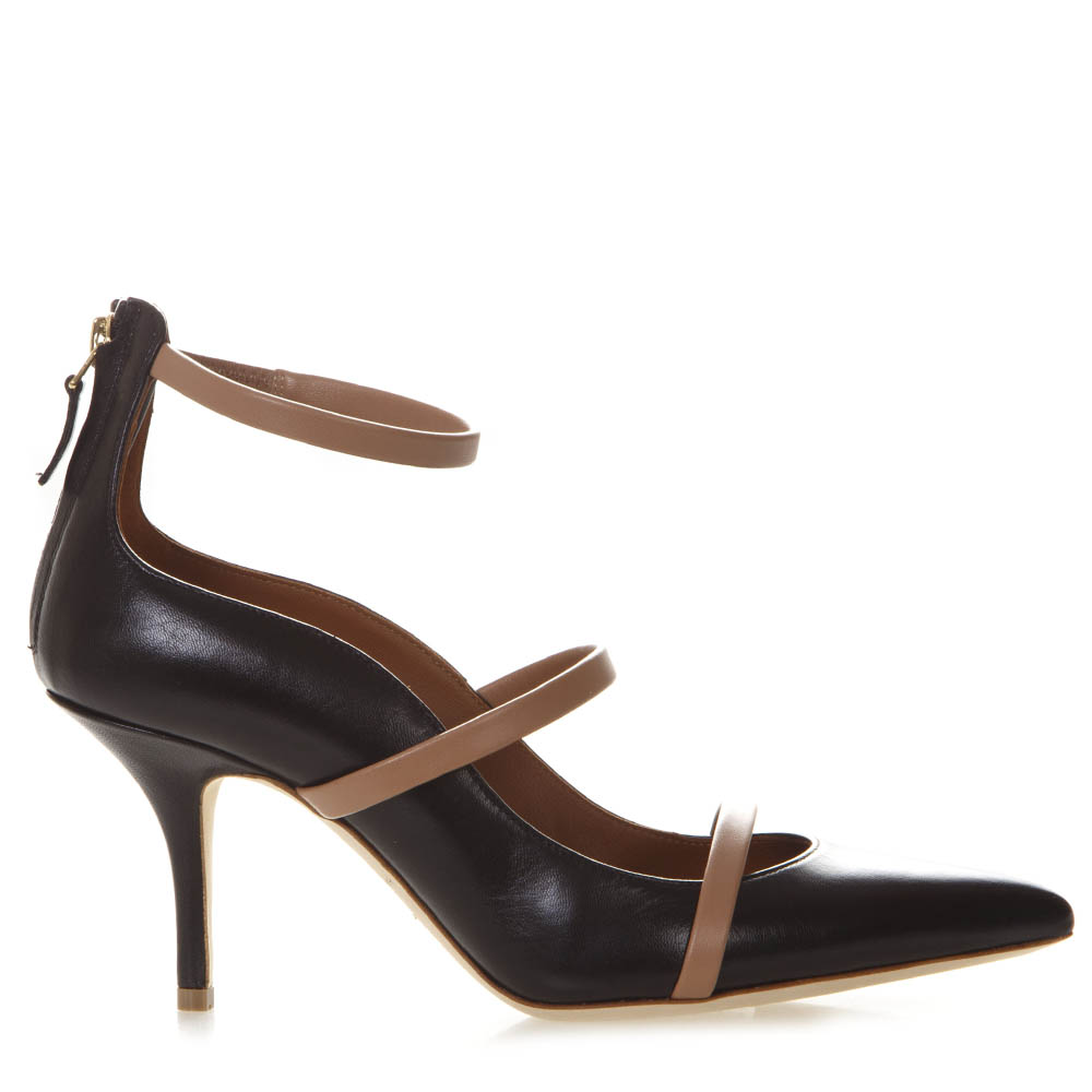 5ac881fdf06ea ROBYN BLACK LEATHER PUMPS SS19 - MALONE SOULIERS - Boutique Galiano