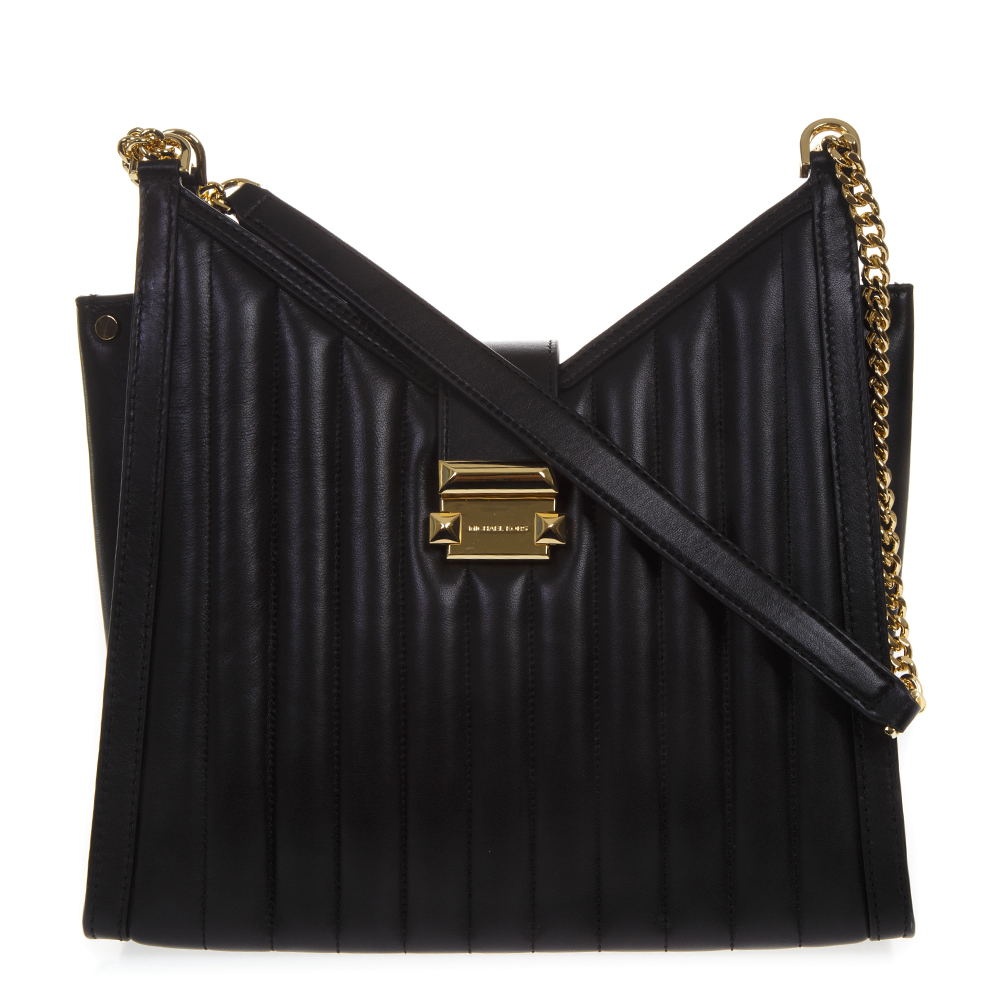 cd745e96f1be48 BLACK WHITNEY QUILTED LEATHER BAG SS19 - MICHAEL MICHAEL KORS - Boutique  Galiano