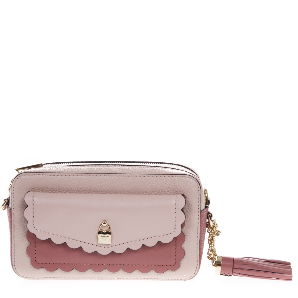 4f64873dae84c9 SOFT PINK TOREBKA LEATHER BAG SS19 - MICHAEL MICHAEL KORS - Boutique Galiano